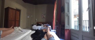 AAE Rey Don Jaime Hotel Room