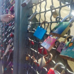 Lovelocks on Hohenzollern Bridge