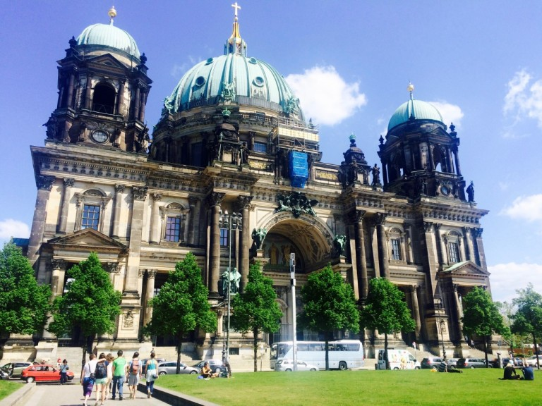 Front View of Berlin Cathedral 2016
