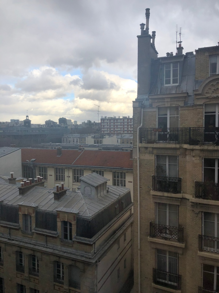 View from ibis Paris Bastille Faubourg-Saint-Antoine 11ème