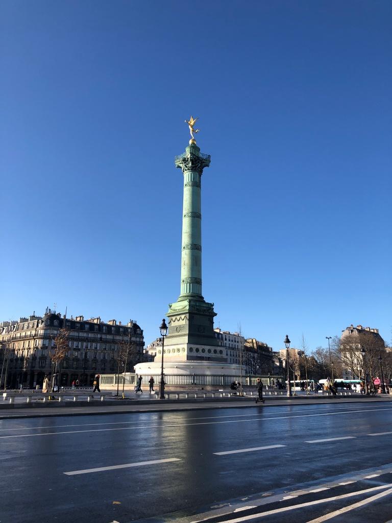 Bastille monument Paris