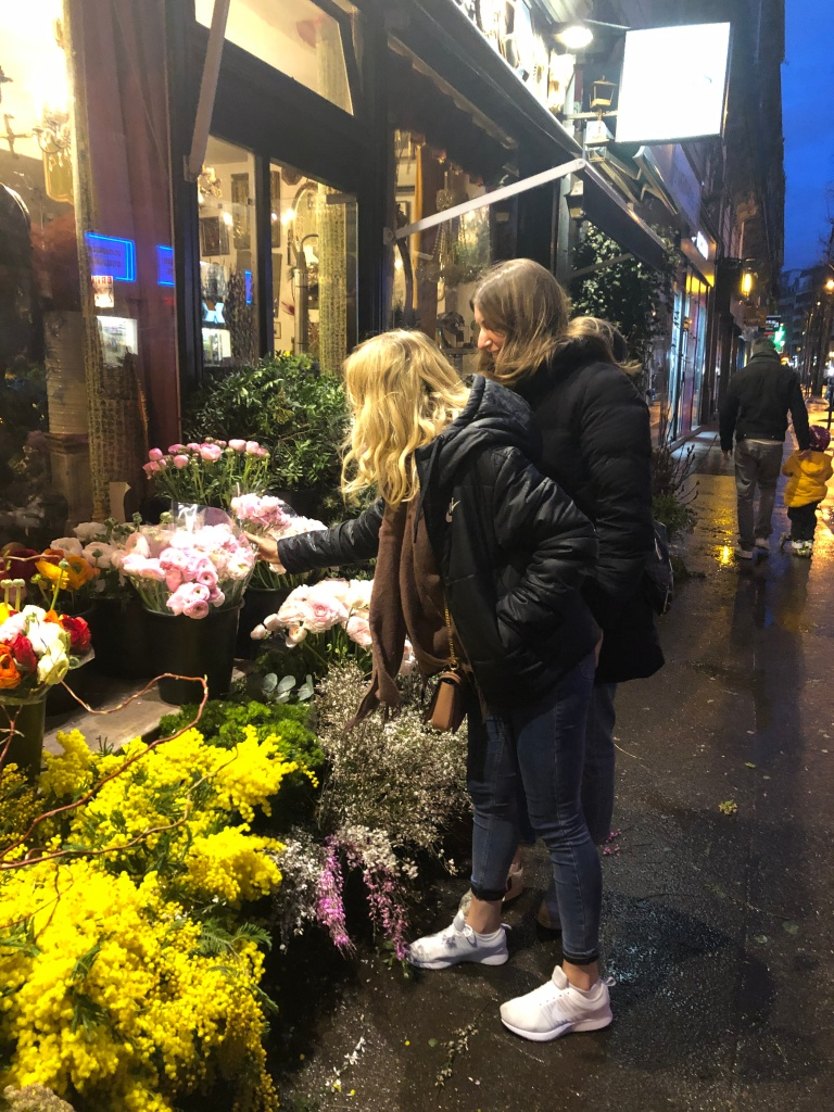 Flower shops in Paris